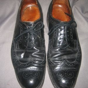 Other - Vintage Czecho Made Black  Leather Oxfords,  12 D